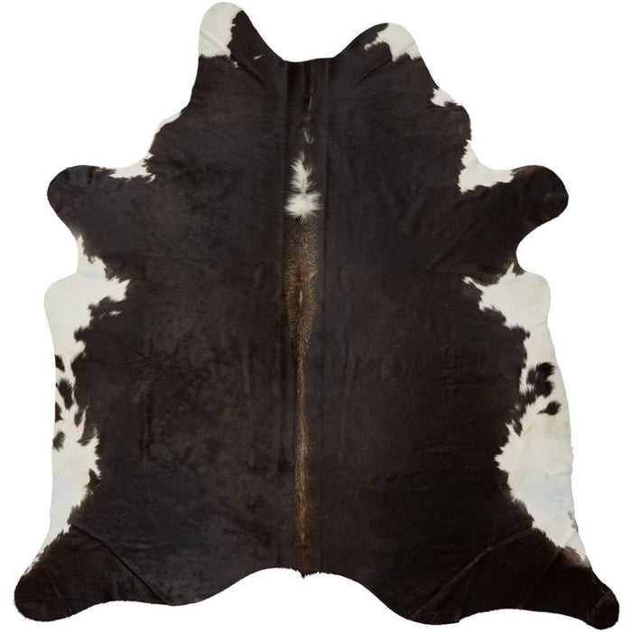 NC Cowhide UNIKA Cow Hide. Size: 3,52 m2. Color: Dark Brown Reddish Hides Dark Brown/Reddish