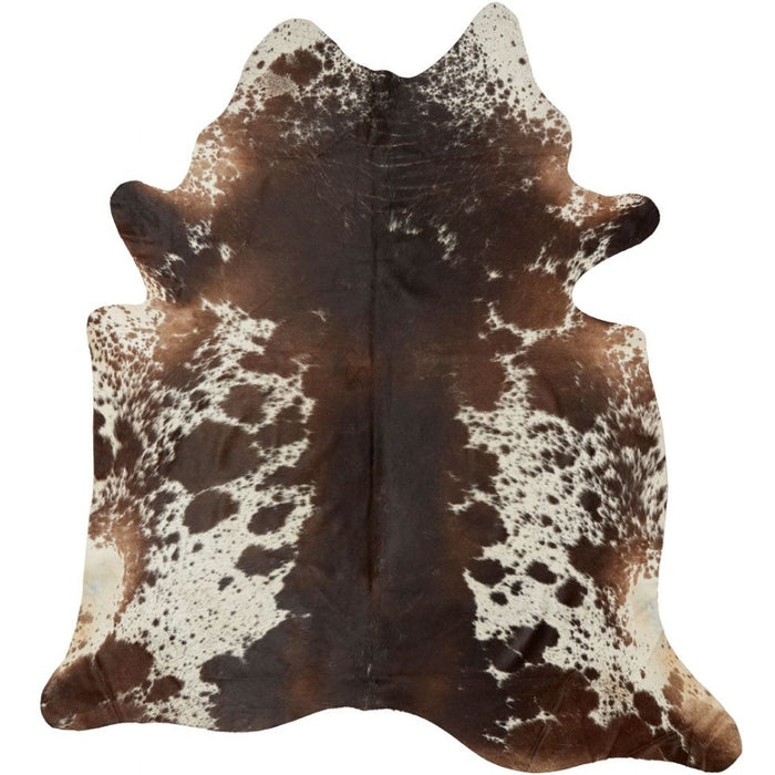 NC Cowhide UNIKA Cow Hide. Size: 3,39 m2. Color: Dark Brown/Reddish Hides Dark Brown/Reddish