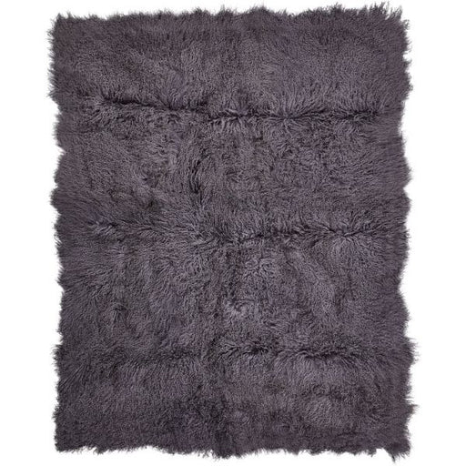 NC Living Tibetan Sheepskin throw | 140x180 cm. without backing Throws Steel