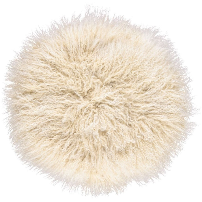 NC Living Tibetan Sheepskin Cushion | Cake Collection | Ø62 Cushions Arctic Sunrise