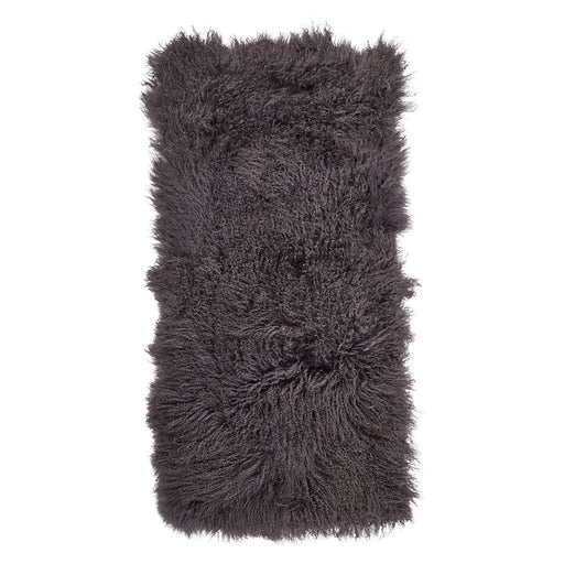 NC Living Tibetan Sheepskin plaid | 60x120 cm. Plaid Steel