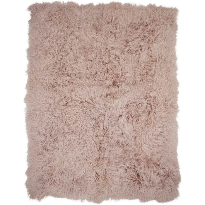 NC Living Tibetan Sheepskin throw | 140x180 cm. Throws Dove