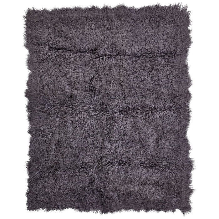 NC Living Tibetan Sheepskin throw | 140x180 cm. Throws Steel