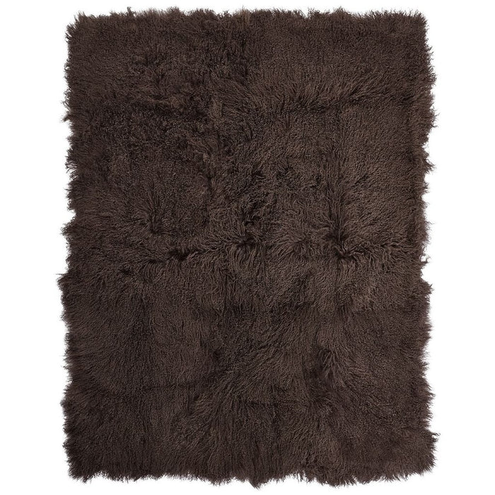 NC Living Tibetan Sheepskin throw | 140x180 cm. Throws Taupe
