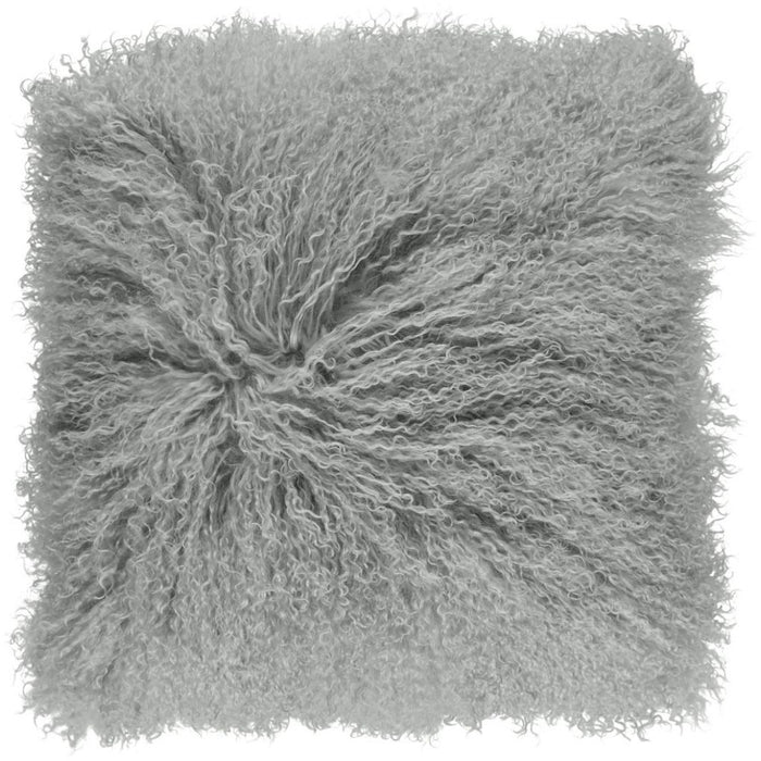 NC Living Tibetan sheepskin Cushion | 40x40 cm. Cushions Light Grey