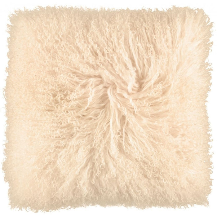 NC Living Tibetan sheepskin Cushion | 40x40 cm. Cushions Light honey