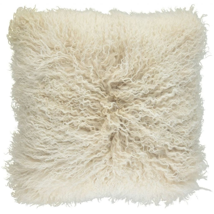 NC Living Tibetan sheepskin Cushion | 40x40 cm. (double sided) Cushions Arctic Sunrise