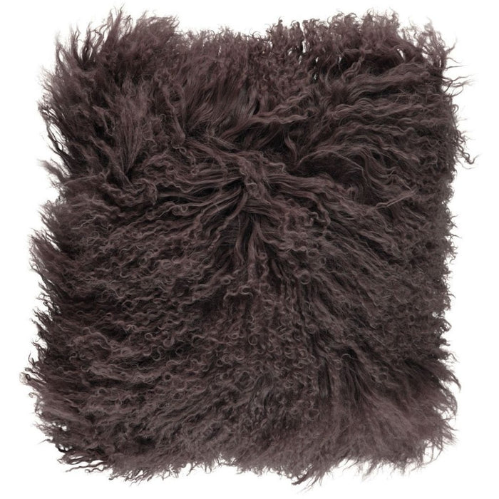 NC Living Tibetan sheepskin Cushion | 40x40 cm. (double sided) Cushions Taupe