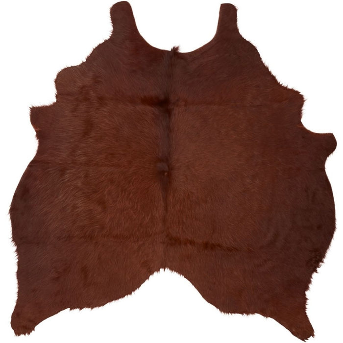 NC Cowhide UNIKA Cow Hide. Size: 2,36 m2. Color: Brown Hides Brown