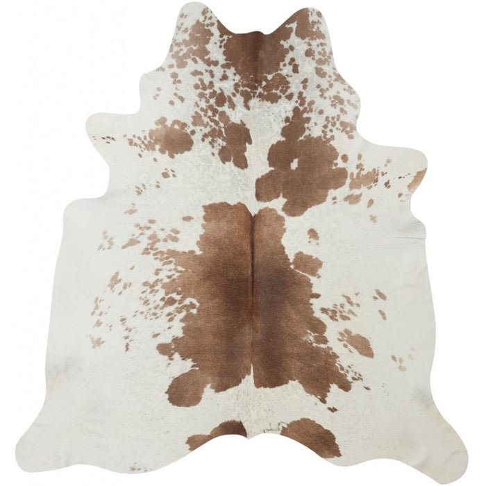 NC Cowhide UNIKA Cow Hide. Size: 2,89 m2. Color: Dark Brown Reddish Hides