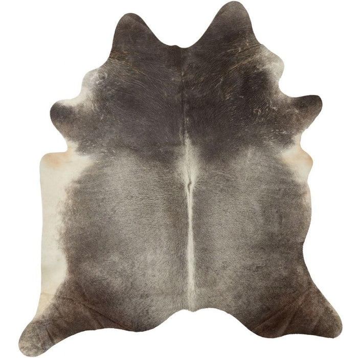 NC Cowhide UNIKA Cow Hide. Size: 3,34 m2. Color:  Natural Grey Hides Natural Grey