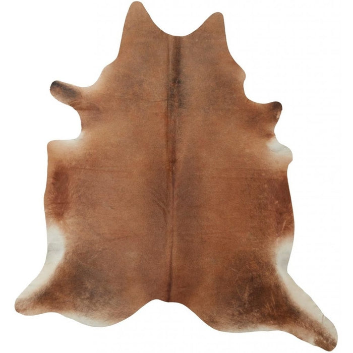 NC Cowhide UNIKA Cow Hide. Size: 3,65 m2. Color: D. Brown Reddish Hides