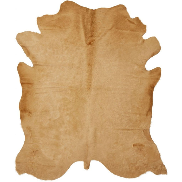 NC Cowhide UNIKA Cow Hide. Size: 4,00 m2. Color: Gold Hides