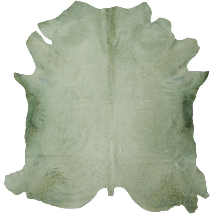 NC Cowhide UNIKA Cow Hide. Size: 4,00 m2. Color: Mint Hides