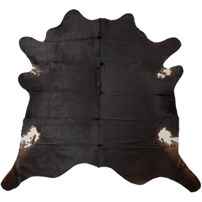 NC Cowhide UNIKA Cow Hide. Size: 4,36 m2. Color: D. Brown Reddish Hides
