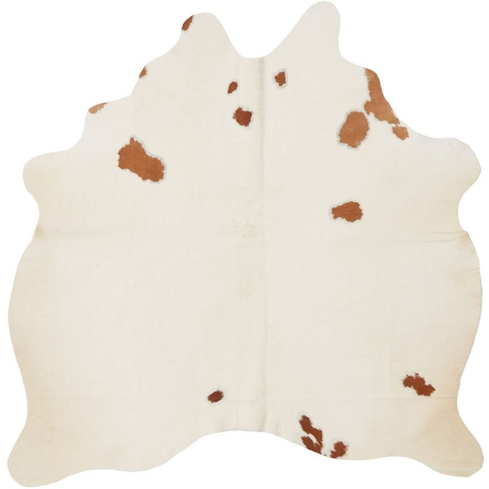 NC Cowhide UNIKA Cow Hide. Size: 2,35 m2. Color: Brown/White Hides