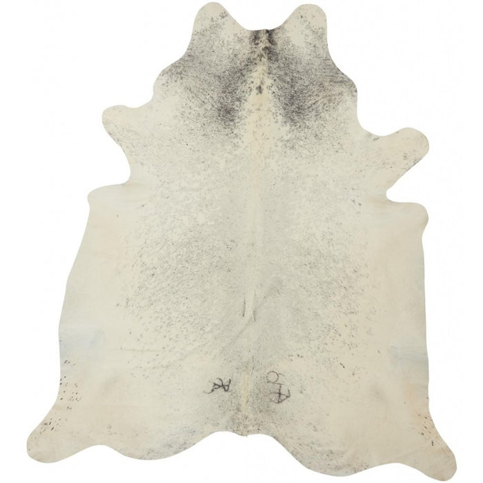NC Cowhide UNIKA Cow Hide. Size: 3,82 m2. Color: Salt & Pepper Black/White Hides