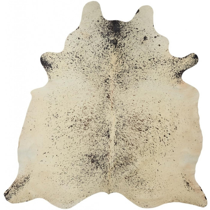 NC Cowhide UNIKA Cow Hide. Size: 4,1 m2. Color: Salt & Pepper Black/White Hides
