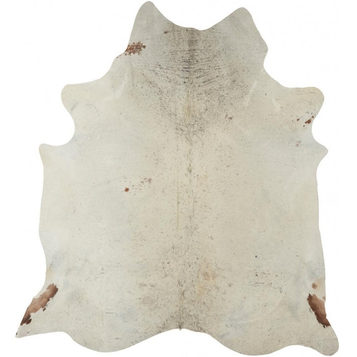 NC Cowhide UNIKA Cow Hide. Size: 3,5 m2. Color: Salt & Pepper Brown/White Hides