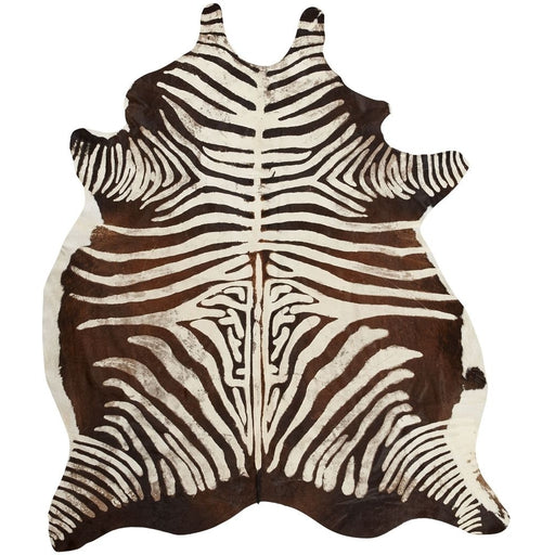 NC Living Cow Hide - VINTAGE Zebra | Size S Hides Black/White
