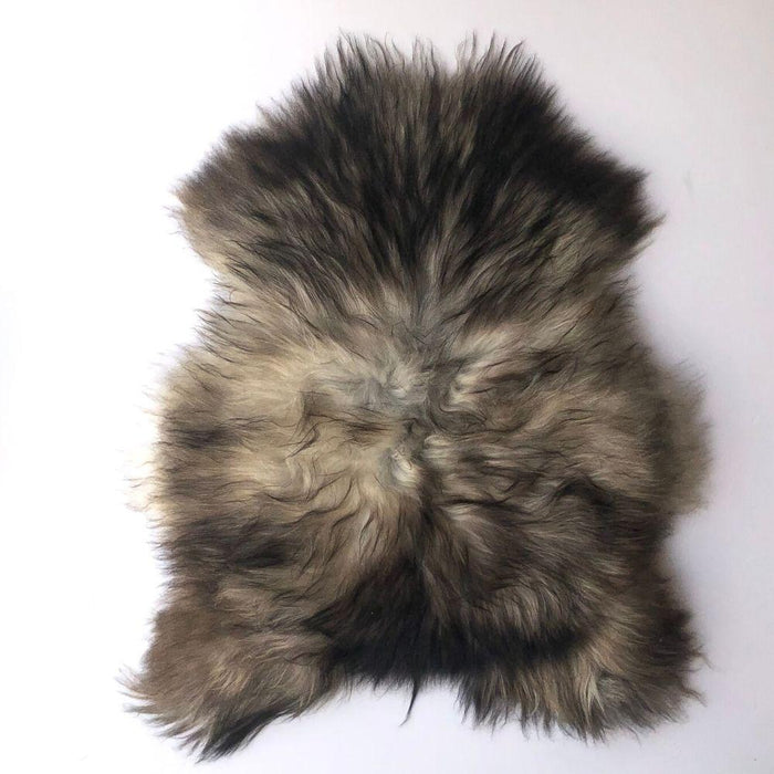 Skins - Premium Sheepskin | Iceland | Natural Grey | Unique Number 14998 | 102 X 88 Cm