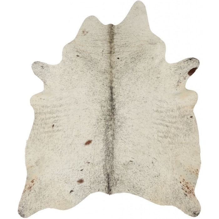 NC Cowhide UNIKA Cow Hide. Size: 3,05 m2. Color: Salt&pepper (brown/white) Hides