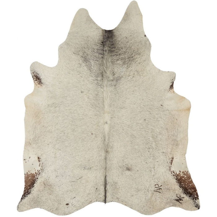 NC Cowhide UNIKA Cow Hide. Size: 3,3 m2. Color: Salt&pepper (brown/white) Hides