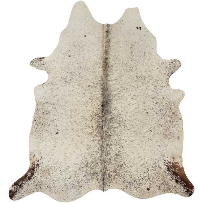 NC Cowhide UNIKA Cow Hide. Size: 3,42 m2. Color: Salt&pepper (black/white) Hides