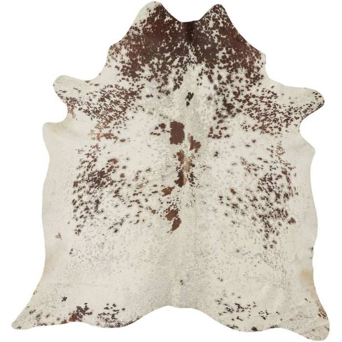 NC Cowhide UNIKA Cow Hide. Size: 3,6 m2. Color: Salt&pepper (brown/white) Hides Salt&pepper (brown/white)