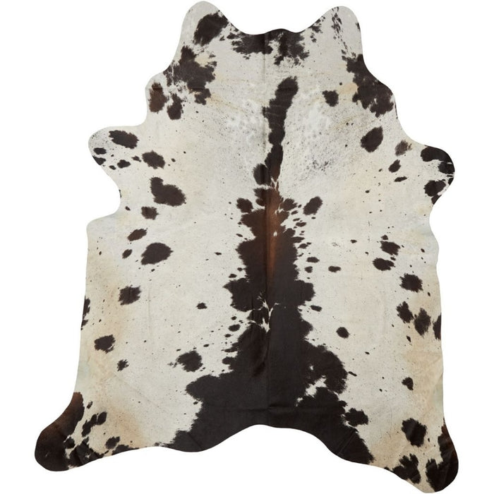 NC Cowhide UNIKA Cow Hide. Size: 3,31 m2. Color: Salt & Pepper (black/white) Hides Salt&pepper (black/white)