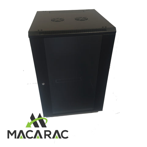 "18U 450mm FREE STANDING / WALL-MOUNT 19"" Professional Range 19"" Rack Cabinet"