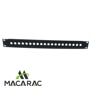 "1U BNC PANEL 16 WAY (19"" Inch Rack-Mount Application)"