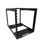 "12U Adjustable Depth Open Rack 4 Post 19"" 450-700MM Deep"