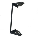 "4U Steel Vertical Wall Mount / Under Desk Rack Bracket (Black) 19"" Application"
