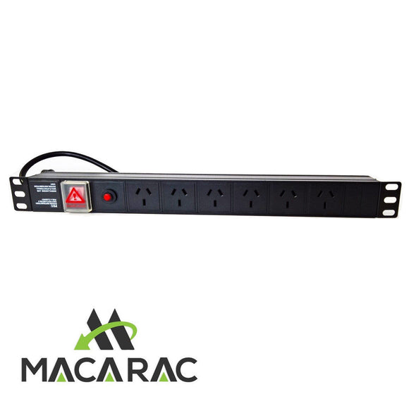 1U 6 WAY POWER DISTRIBUTION UNIT (PDU) 19