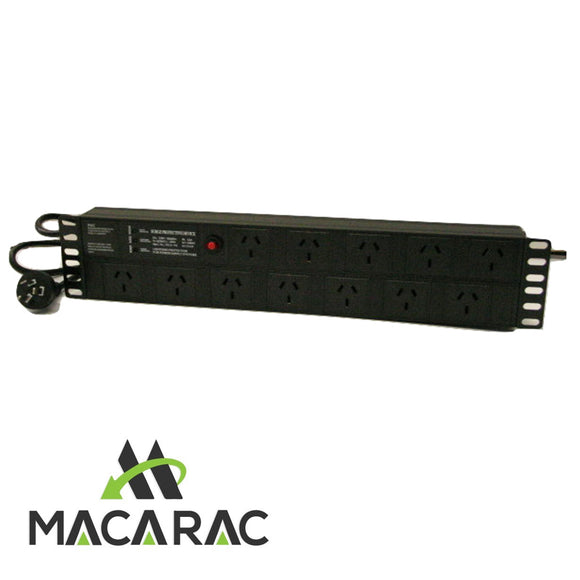 2RU 12 WAY POWER DISTRIBUTION UNIT (PDU) 19