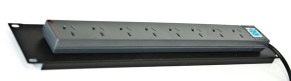 2U 8WAY PDU Rack Mount (Surge Protected Suit all 19