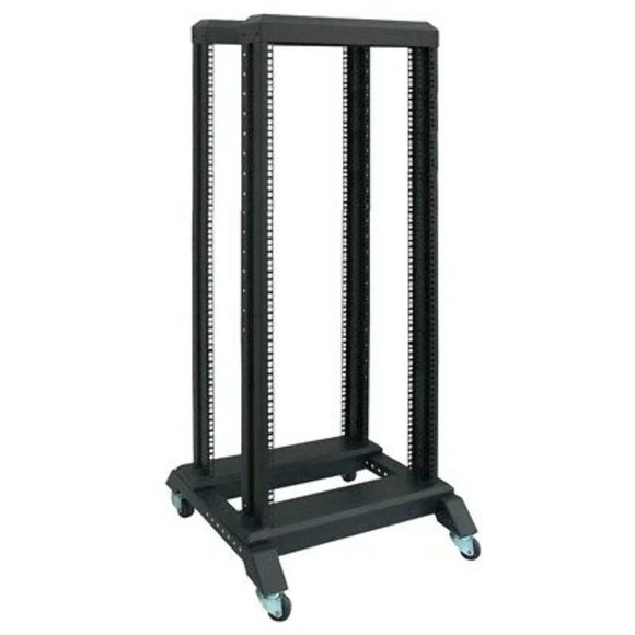 LinkBasic 37U Open Rack 600mm x 600mm x 1666mm Flat Pack (400mm depth)
