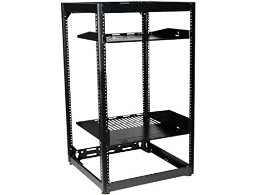 15u Skeleton Rack CFR1615 SANUS Flat Pack Incl  1 X 1U and 1 X 2U Shelf Rack Size: 15Ru, Includes: 1 X 1U and 1 X 2U Shelf