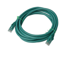 8Ware Cat6a UTP Ethernet Cable 3m Snagless Green