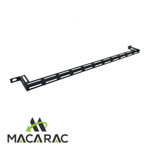 "Lacing Bar for Cable Management - 2inch 50mm Offset (Suit 19"" Equipment Racks)"