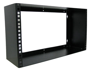 "6U 150mm Deep 19"" Wall Rack"