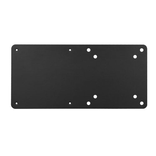 Brateck Vesa Compatible NUC mounting bracket, up to 3kg, Black colour, Steel Material