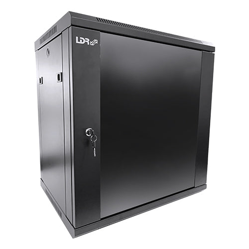 LDR 12U Wall Mount Cabinet 600mm x 450mm Flat Packed (Provision For 2 Fans)