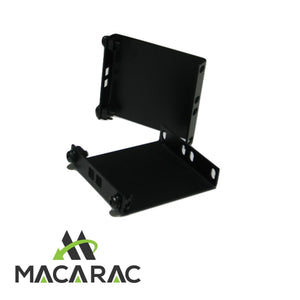 "2U Recess Brkt 100mm Deep (19"" Inch Rack-Mount Application)"