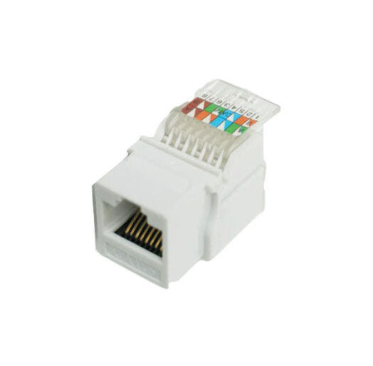 CAT6 Jack UTP Keystone Fits Unloaded Patch Panel