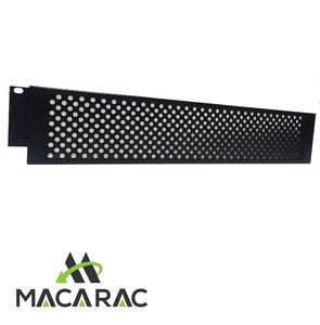 "2U Perferated Security Panel  (19"" Inch Rack-Mount Application)"