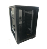 18U 800mm 19 Inch Redback Network Cabinet Fully Assembled Welded Frame