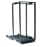 "SLIDE AND SPIN BASE 19"" Internal Rack (Suit Credenzas, Podiums, Lecterns, Cabinets)"