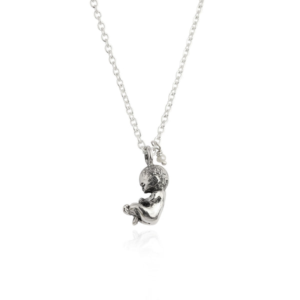 MOMOCREATURA Baby Necklace Silver / Gold Vermeil